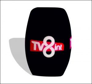 Tv8int'e mikrofon süngeri yaptık.